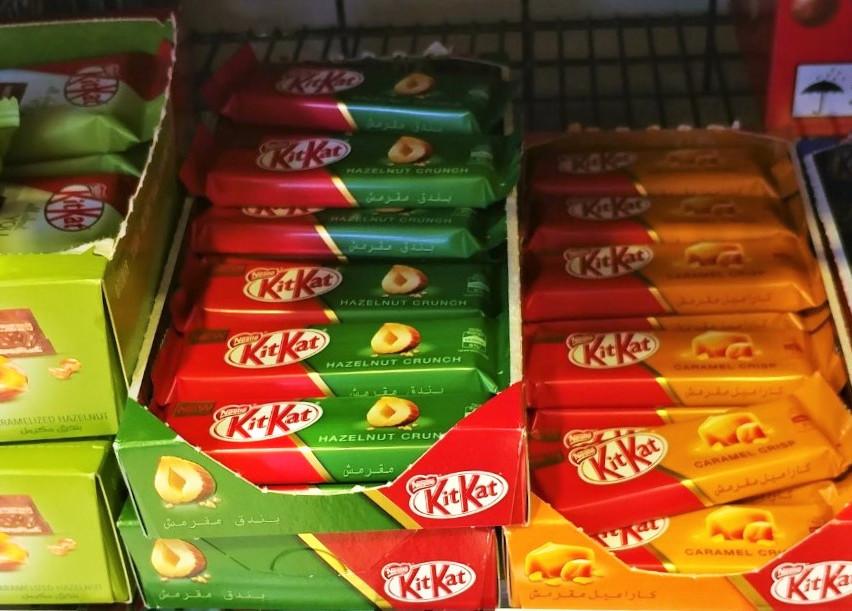 Kit Kats in Doha