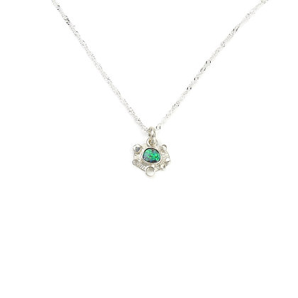 Small Australian Opal Pendants