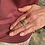 "Thumbnail: Australian Opal ""Maple Glow"" Adjustable Ring"