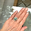 "Thumbnail: Brown Matrix Turquoise Ring ""Arctic Thaw"""