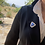 "Thumbnail: Australian Blue Opal Silver Pin ""Mist Mountain"""