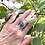 "Thumbnail: Deep Turquoise ""Moon Rise"" Ring"