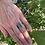 """Thumbnail: 14 kt Gold & Silver """"Lodgepole Pines"""" Ring"""