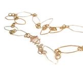silver brass bronze handmade chain