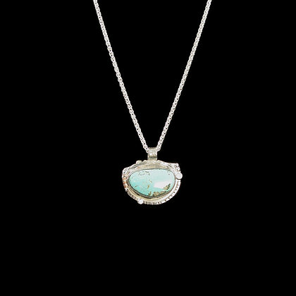 """Sleeping Beauty Turquoise """"Calm Water"""" Necklace"""