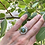"""Thumbnail: Adjustable Olive TurquoiseRing """"Meadow Trail"""""""