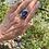"Thumbnail: Australian Opal Purple ""Dark Seas"" Ring"