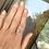"Thumbnail: Silver ""Faith Hope Love Peace"" Ring"