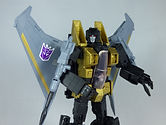 Pumpkingonzo Custom Transformers Masterpiece MP11 E-Hobby Black Starscream