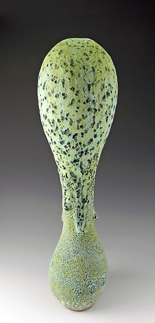 1 Club Vase, Hamlin, 24 inches high x 5