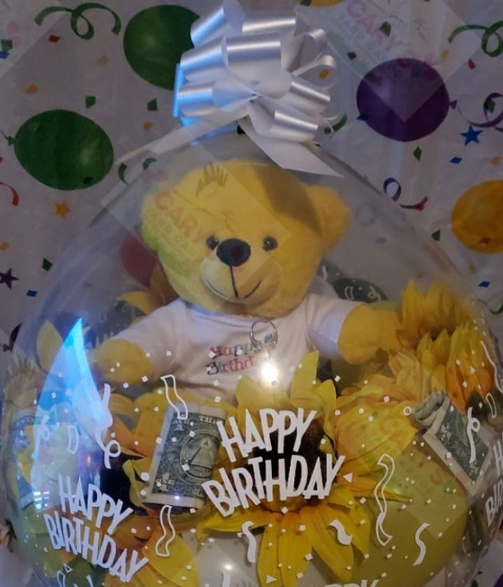 Happy Birthday Yellow bear