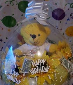Happy Birthday Yellow bear