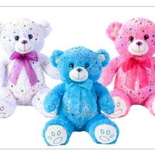 WHITE,PINK,&BLUE BEAR