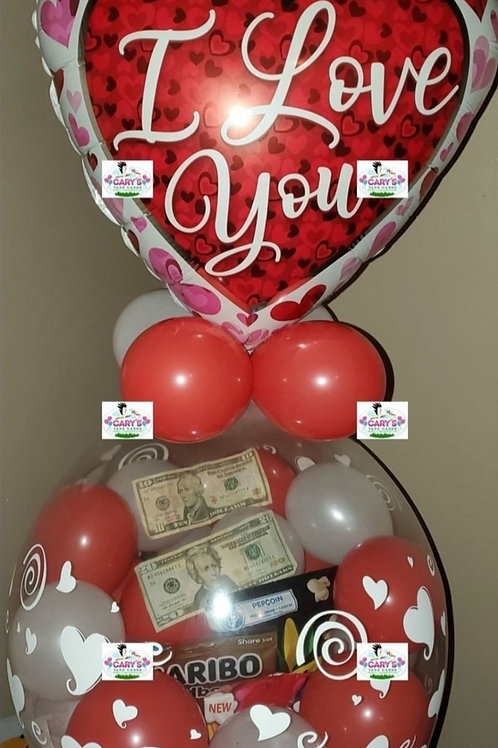 Candy, Chips, & Money Balloon