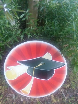 Red Graduation Hat