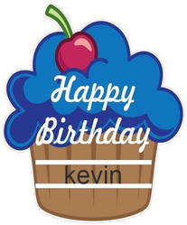 Blue Cupcake Message Board