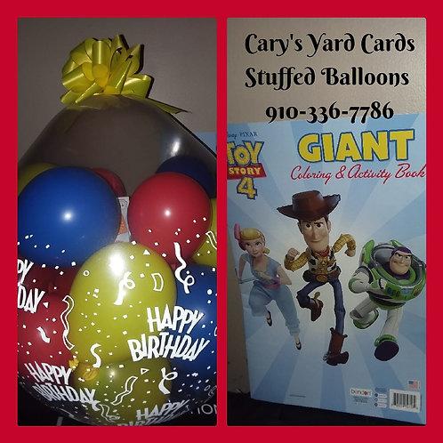 kids Happy Birthday Stuffed Balloon