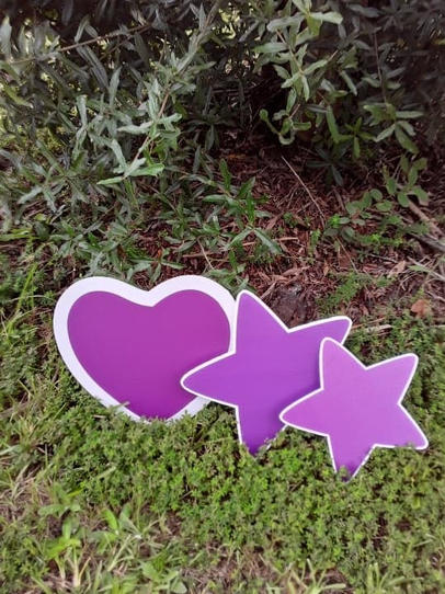 Purple Heart & Star