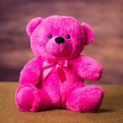 pink bear dark