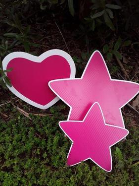 Pink Heart & Star