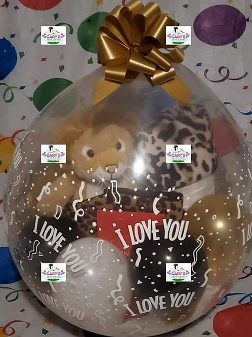 I Love You Stuffed Balloon