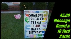 45 message board