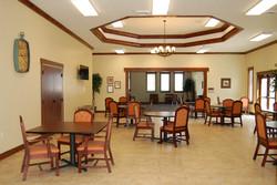 Light spacious dining rooms