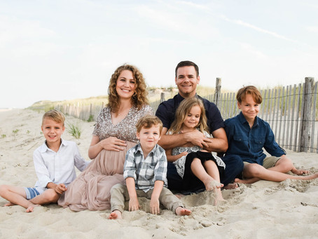 Maternity Photography- Cape Henlopen Delaware State Park Beach Photo Session