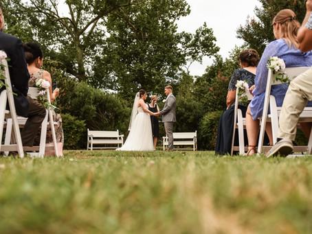 Historic Odessa Garden Wedding | Allie & Adam | August 7th