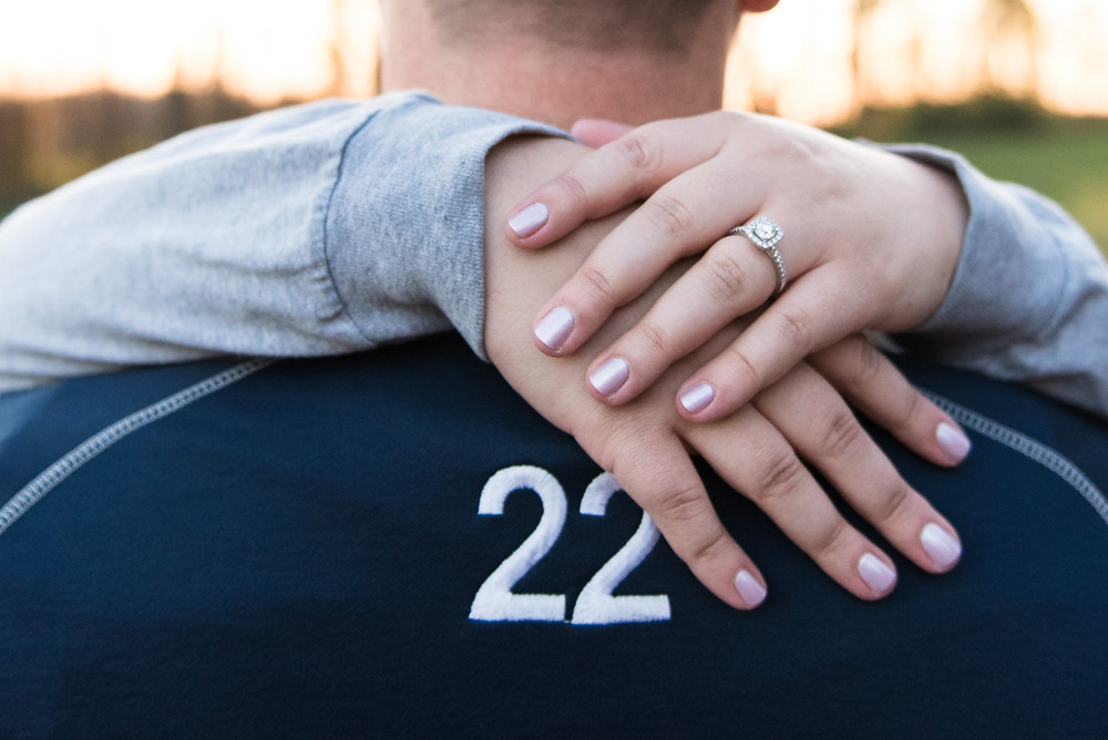 fall soccer engagement session lebanon valley college alumni shannon ritter photography