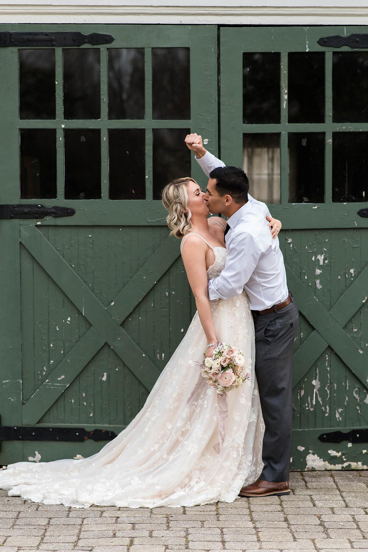 cherry hill groom celebration new jersey wedding rustic charm photographer