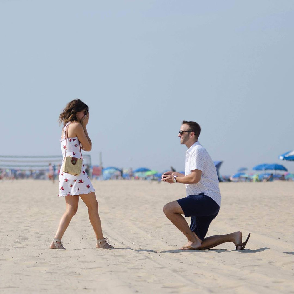 Rehoboth Beach Delawares proposal photographer shannon ritter photography