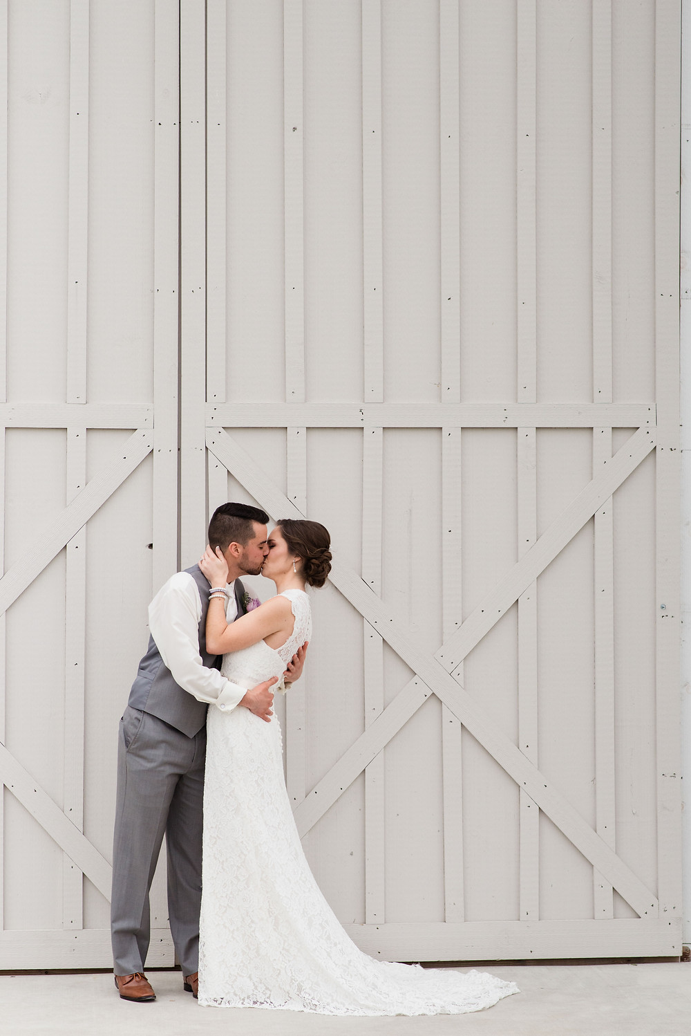 Kylan Barn doors for rustic charm first look photos.