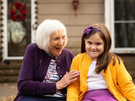 Do you have a living grandparent? Great grandparent? | Delaware Family Photographer