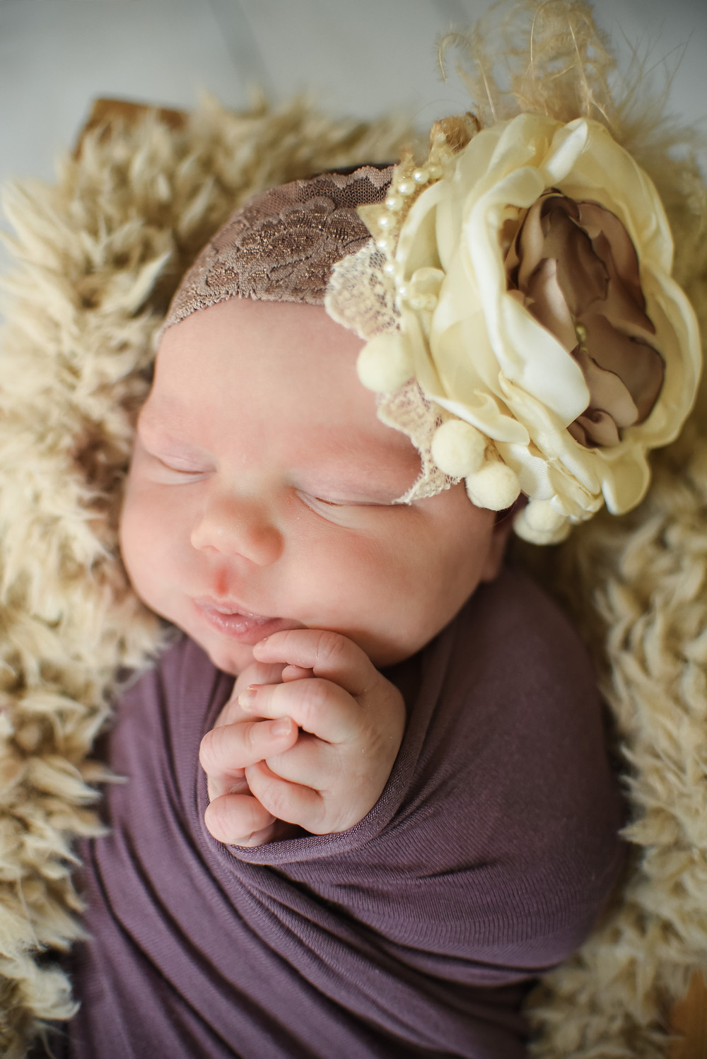 shannon ritter newborn photographer dover delaware in home studio session