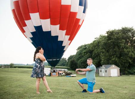 Hot Air Balloon Proposal - Newark, Delaware