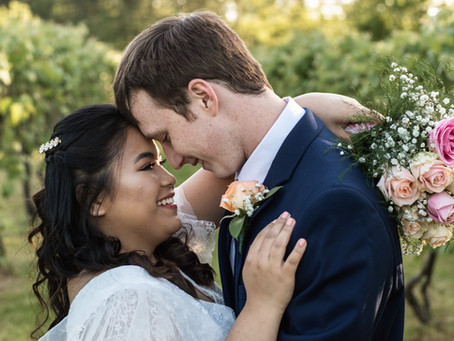 Delaware Winery Micro Wedding | Jidapa & Chris | Pizadilli