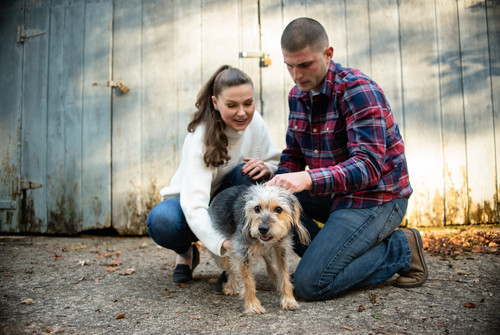 Engagement Session Oversee Farm Delaware State Park Wilmington