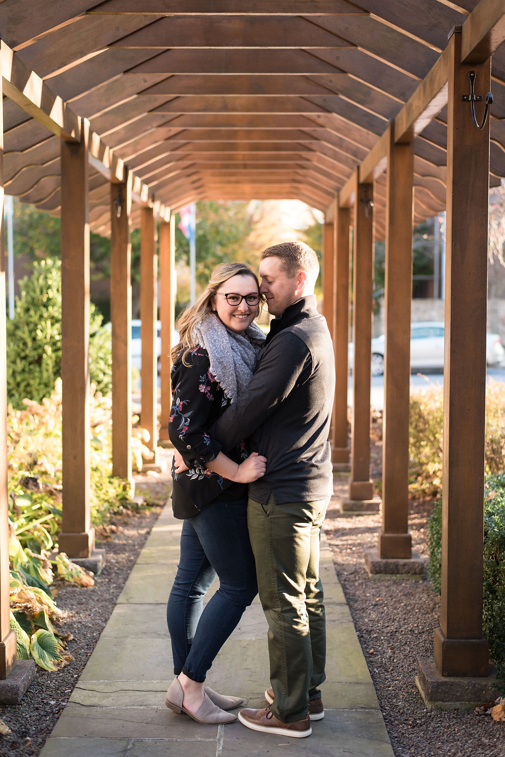 Lebanon Valley College Alumni return for fall engagement photos with Shannon Ritter Photography philadelphia wedding