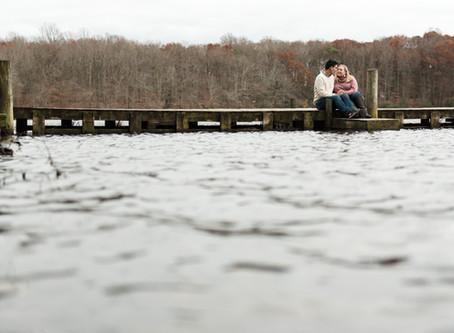 Engagement Session | Love Can't Be Canceled | Killen's Pond State Park | Sam & Ben