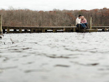 Engagement Session | Love Can't Be Canceled | Killen's Pond State Park | Sam & Ben