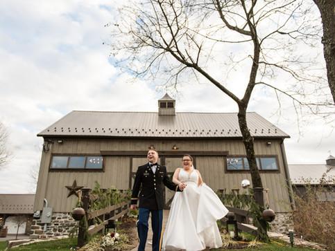 The Farm Bakery & Events   Kate & Blade's Christmas Themed Wedding