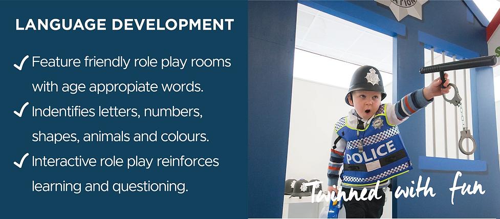 Benefits of role play - language development