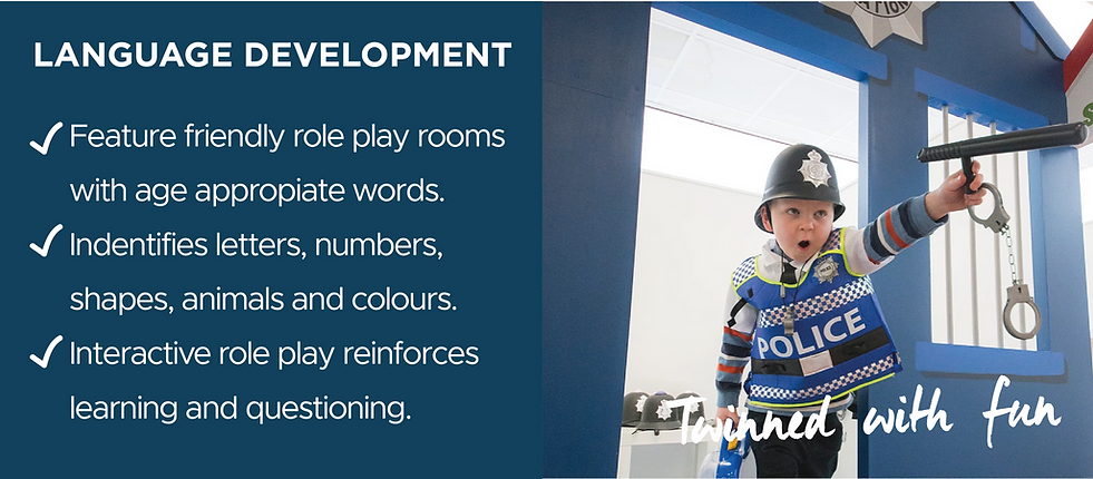 Benefits of role play - language development
