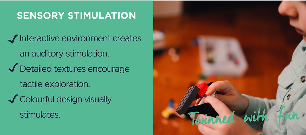 Benefits of role play - sensory stimulation