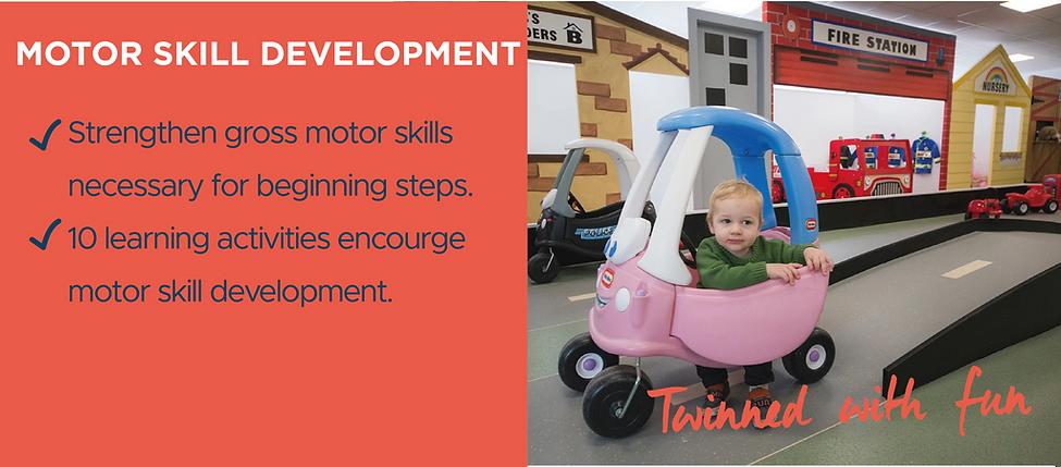 Benefits of role play - motor skill development