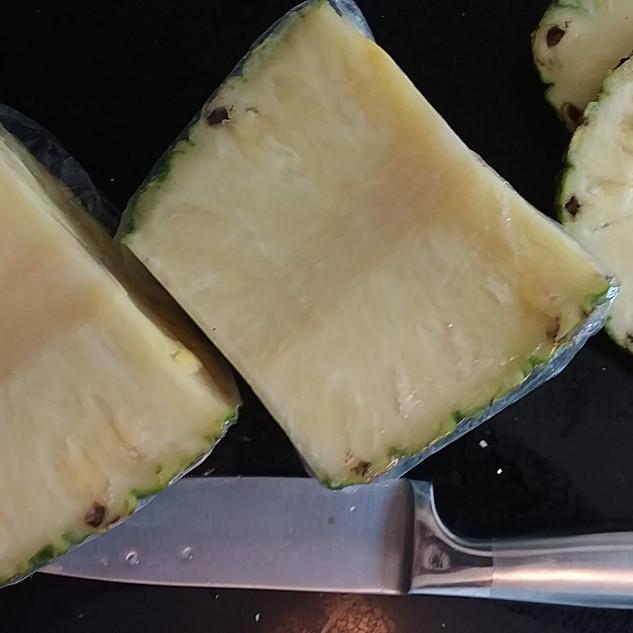 Half pineapple
