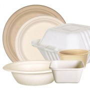 Compostable diposable tableware