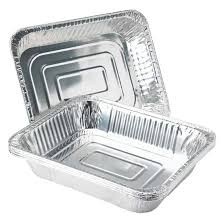 Soft foil BBQ trays