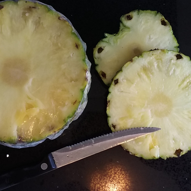 Whole pineapple